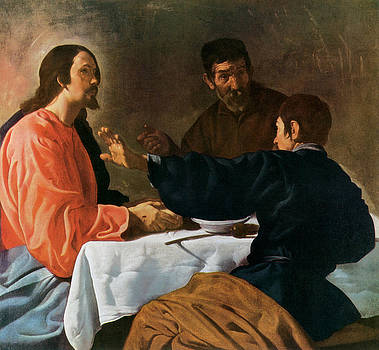 Diego Velazquez - Christ and the Pilgrims of Emmaus