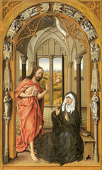 Rogier Van Der Weyden - Christ Appearing to His Mother