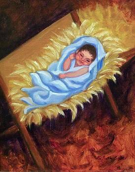 Ruth Soller - Christ Child in Manger