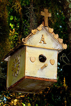 Christian Birdhouse by David  Brown