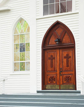 Julie Magers Soulen - Christian Church Door