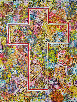 Christian Cross by Adel Nemeth