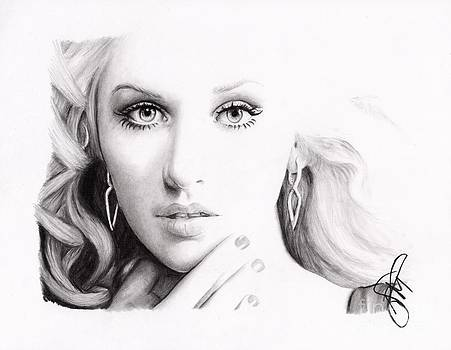 Christina Aguilera 2 by Rosalinda Markle