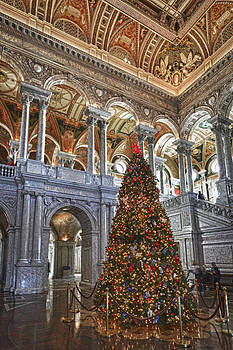 Christmas at the Library of Congress by Chris Reed