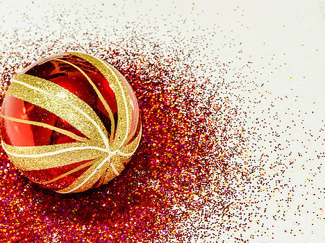 Christmas ball. by Slavica Koceva
