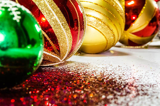 Christmas balls. by Slavica Koceva