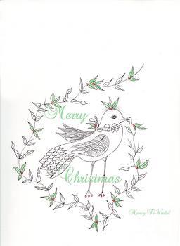 Christmas Bird by Nancy TeWinkel Lauren