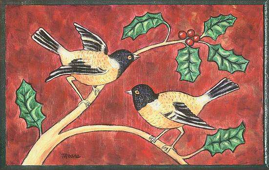 Linda Mears - Christmas Birds