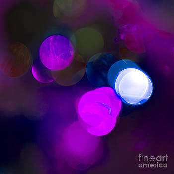 Christmas Bokeh Pinks by Michelle Orai