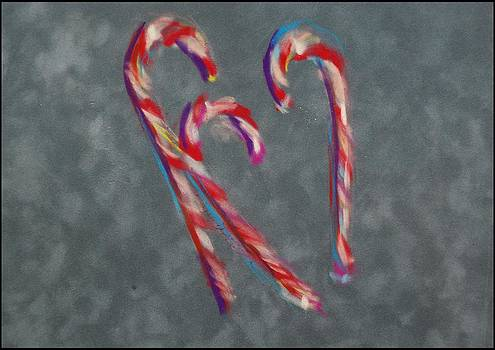 Christmas Candy Hearts by Ann Bailey