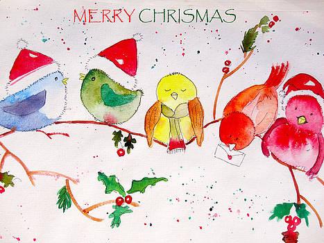 Christmas Card by Charu Jain