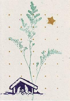 Christmas card by Mary Adam