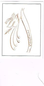 Christmas card by Valerie VanOrden