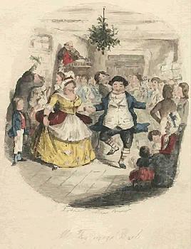 Christmas Carol Illustration by John Leech