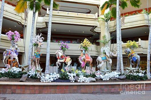 Mary Deal - Christmas Carousel Animals