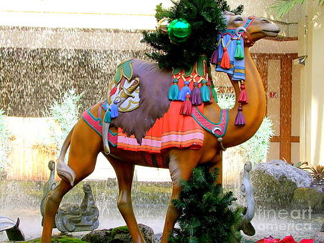 Mary Deal - Christmas Carousel Camel