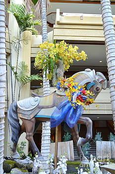 Mary Deal - Christmas Carousel Steed