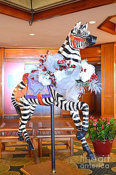 Mary Deal - Christmas Carousel Zebra