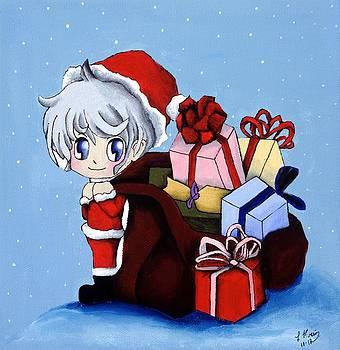 Christmas Chibis by Leeann Stumpf