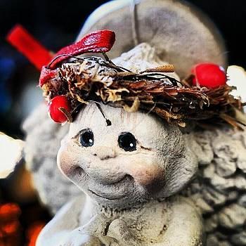 #christmas #christmastree #angel by Mark Jackson