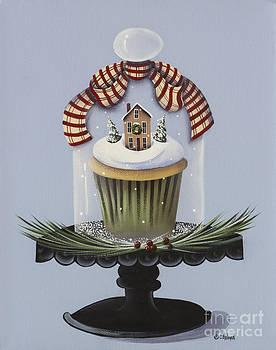 Christmas Cupcake by Catherine Holman