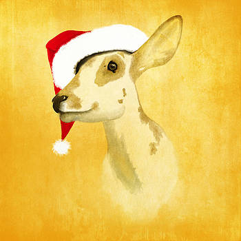 Christmas Deer by Veronica Ventress