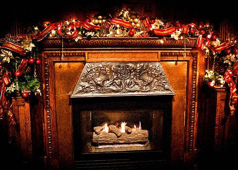 Joann Copeland-Paul - Christmas Fireplace