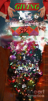 Christmas Giving Abstract by Erin Masterson