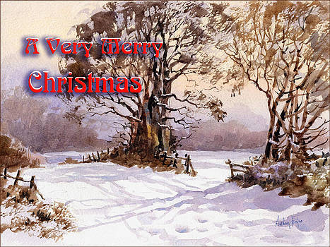 Anthony Forster - Christmas  Greeting Card Trees