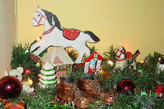 Christmas Horse by Thomas D McManus
