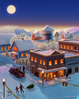 Christmas in Harmony by Robin Moline