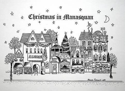 Christmas in Manasquan by Melinda Saminski