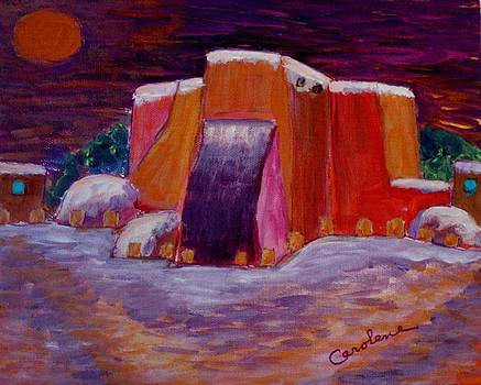Christmas in Ranchos by Carolene Of Taos