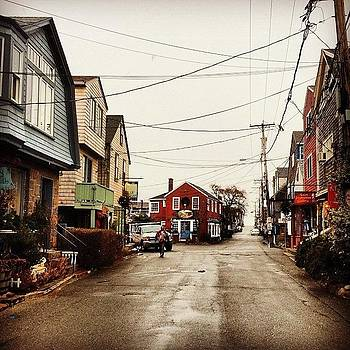 Christmas In Rockport #ghosttown by Diego De Leon