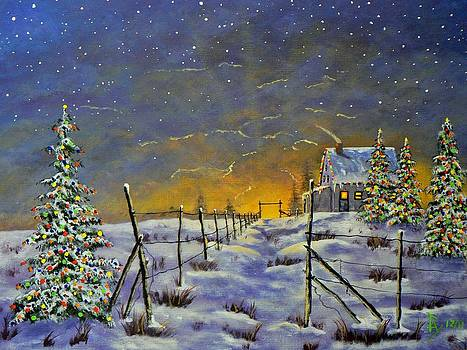 Christmas in the Country by Ray Nutaitis