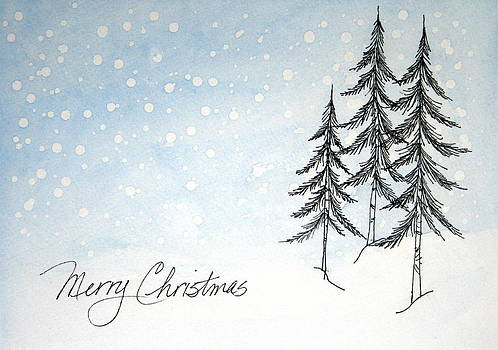Christmas in the Pines by Marna Edwards Flavell