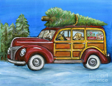 Christmas in the woody by Kim Arre-gerber