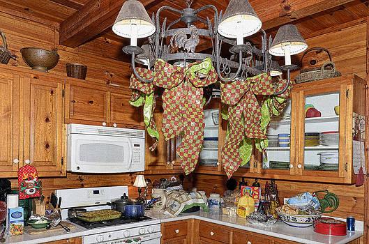 Christmas Kitchen by Susan Leggett