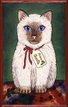 Linda Mears - Christmas Kitten