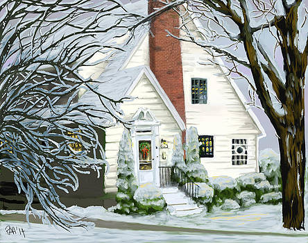 Christmas Long Ago by Peggy Hickey