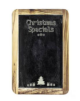Sophie McAulay - Christmas menu sign