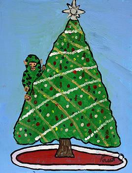 Paul O - Christmas Monkey