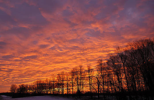 Christmas Morning Sunrise by Scott Slattery
