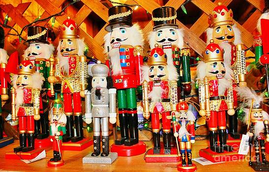 Christmas Nutcrackers by Judy Palkimas