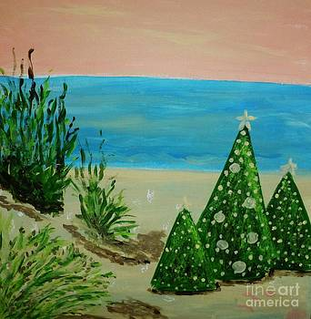 Christmas on the Beach by Marie Bulger