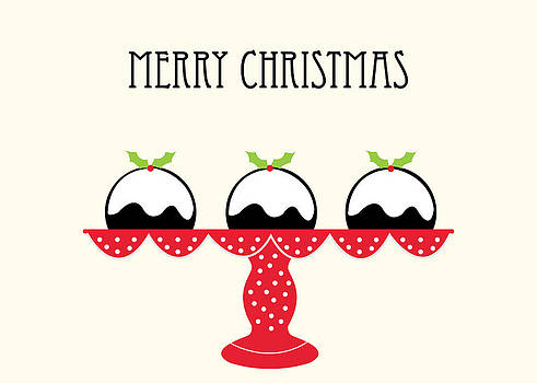Christmas Puddings by Pamela Altschwager