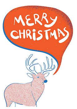 Christmas Reindeer by Popiko Shop