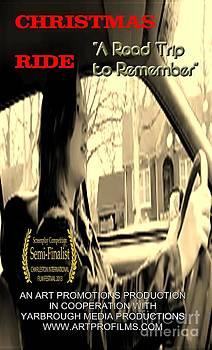 Christmas Ride Film Poster at Wheel by Karen Francis
