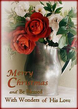 Christmas Roses by Diana Besser