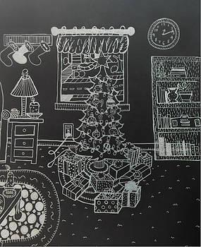 Christmas Scene by Chelsea Geldean